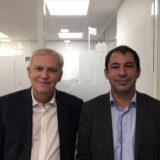 Gerard Massena et Sylvain Deloye Credit Agricole Franche Comté