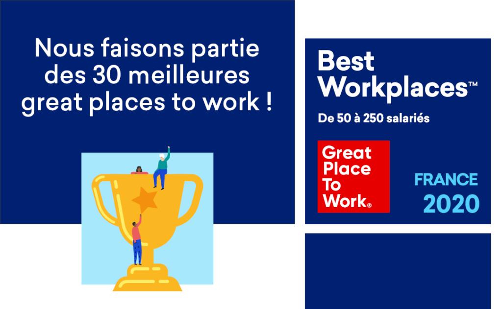 Quaternaire, au Palmarès Bestworkplaces 2020