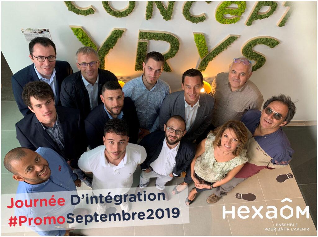 Journée d'intégration Hexaom - Promo septembre 2019